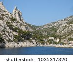 a wonderful creek in the... | Shutterstock . vector #1035317320