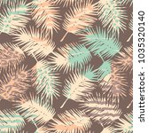 abstract seamless pattern with... | Shutterstock .eps vector #1035320140