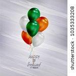 vector illustration of  happy... | Shutterstock .eps vector #1035333208