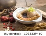 nutritious and healthy chicken...   Shutterstock . vector #1035339460