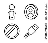 icons camera with cameraman ... | Shutterstock .eps vector #1035341668