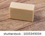 soap on wooden background  | Shutterstock . vector #1035345034
