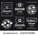 vector collection of simple... | Shutterstock .eps vector #1035345088