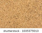 brown textured cork board... | Shutterstock . vector #1035375013