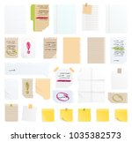 Note Papers Vector Sticker...