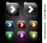 set if buttons for web. vector... | Shutterstock .eps vector #103538744
