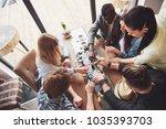 top view creative photo of... | Shutterstock . vector #1035393703