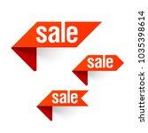 sale labels  special offer ... | Shutterstock .eps vector #1035398614