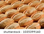 many breads background | Shutterstock . vector #1035399160