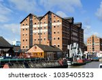 gloucester  uk   24th august... | Shutterstock . vector #1035405523