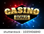 casino welcome bonus  first... | Shutterstock .eps vector #1035406840