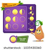 educational game for kids.... | Shutterstock .eps vector #1035430360