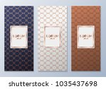 design templates for flyers ... | Shutterstock .eps vector #1035437698