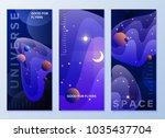 design templates for flyers ... | Shutterstock .eps vector #1035437704