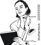 illustration face of a... | Shutterstock . vector #103545530