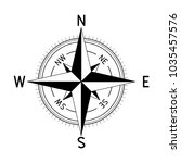 compass. vector illustration... | Shutterstock .eps vector #1035457576