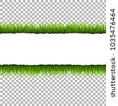 ripped paper with grass and... | Shutterstock .eps vector #1035476464