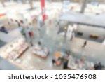view of an art gallery.... | Shutterstock . vector #1035476908