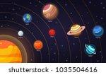 set of vector flat doodle... | Shutterstock .eps vector #1035504616