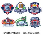 American Football Badge Design