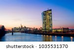 frankfurt am main  european... | Shutterstock . vector #1035531370