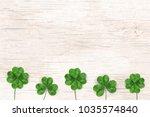 happy st. patrick's day. st... | Shutterstock .eps vector #1035574840