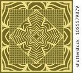 mandala background  geometric... | Shutterstock .eps vector #1035579379