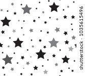 star seamless pattern. black ...   Shutterstock .eps vector #1035615496