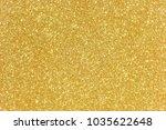 gold glitter texture christmas...   Shutterstock . vector #1035622648