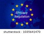eprivacy regulation background. ... | Shutterstock .eps vector #1035641470