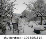 A Snow Scene Of An English...