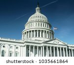 united states capitol building...   Shutterstock . vector #1035661864