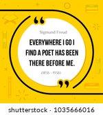 vector quotation. everywhere i... | Shutterstock .eps vector #1035666016