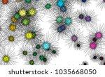 light colored vector template...   Shutterstock .eps vector #1035668050