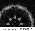 monochrome retro technology... | Shutterstock . vector #1035685210