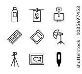 icons camera with thermometer ...   Shutterstock .eps vector #1035697453