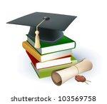 education background | Shutterstock .eps vector #103569758