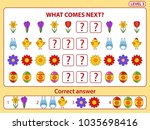 set of tasks for the... | Shutterstock .eps vector #1035698416