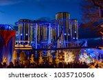 rust  germany   29 decemder... | Shutterstock . vector #1035710506