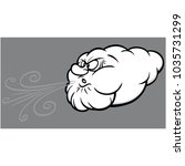 old man winter illustration   a ...   Shutterstock .eps vector #1035731299