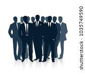 group of businessmen. the... | Shutterstock .eps vector #1035749590