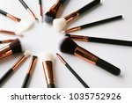 composition with professional... | Shutterstock . vector #1035752926