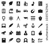 flat vector icon set   copy... | Shutterstock .eps vector #1035762964