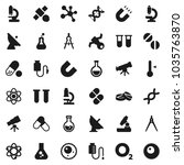 flat vector icon set  ... | Shutterstock .eps vector #1035763870