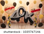40k or 40 000 followers thank... | Shutterstock . vector #1035767146