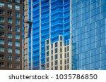 details of a skyscraper...   Shutterstock . vector #1035786850
