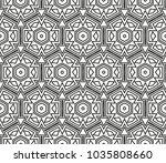 traditional geometric seamless... | Shutterstock .eps vector #1035808660