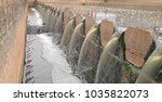clarifier system and effluent... | Shutterstock . vector #1035822073