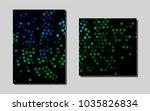 dark blue  greenvector pattern...