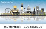 rostov on don russia city... | Shutterstock . vector #1035868108